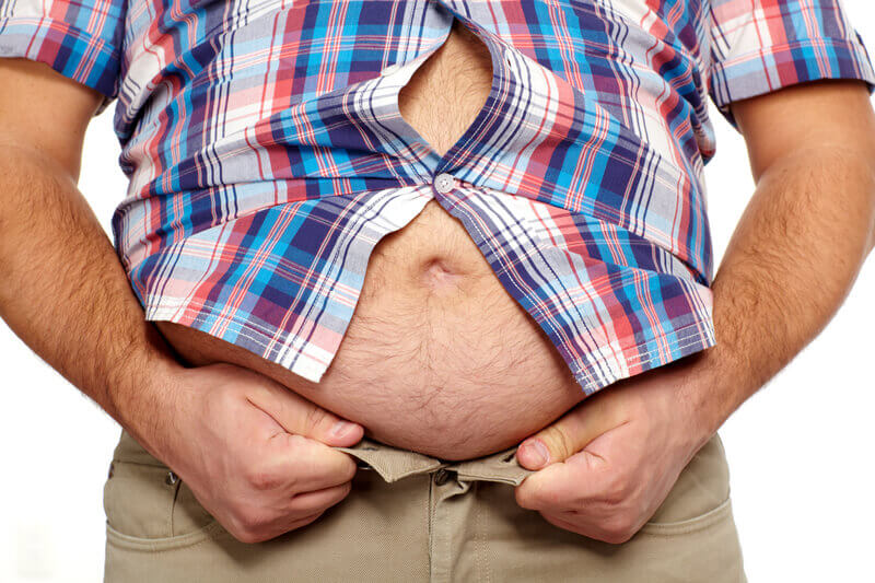 overweight man erectile dysfunction